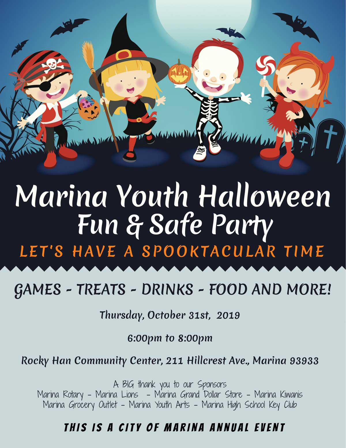 2019 Youth Fun and Safe Halloween Night