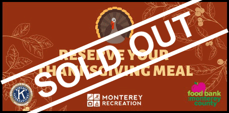 Community Thanksgiving is sold out