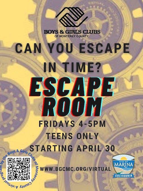 BGCMC Escape Room for Teens