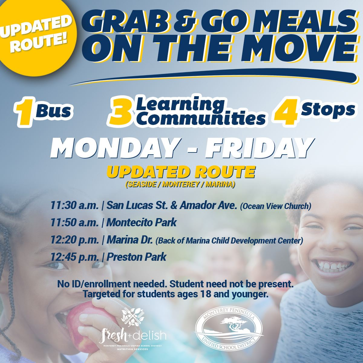 dec 1 meals on the move route